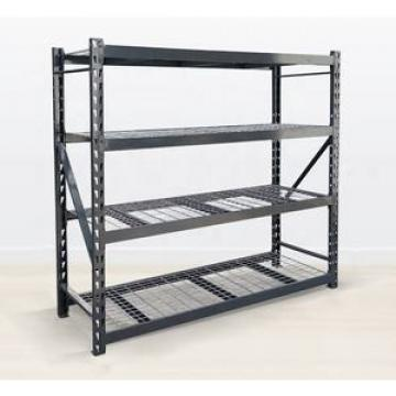 White& Black Adjustable Shelve Metal Storage Rack Boltless shelving racking systems display rack
