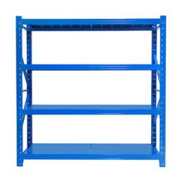 Tear Drop Tray Rack On Shelf Of Industrial Warehouse Heavy Duty Garage Shelving