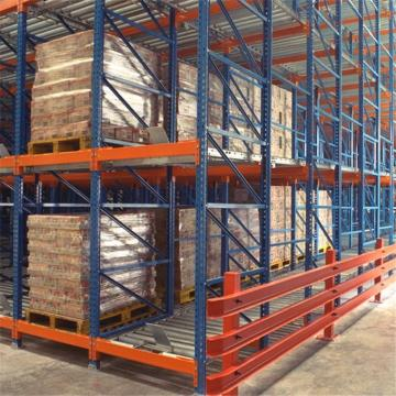 industrial flow rail ABS plastic wheels placon pallet roller track for warehouse FIFO sliding shelf rack system