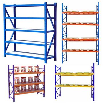 Shenzhen Middle Duty Steel Warehouse Storage Rack