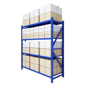 Heavy duty carbon steel supermarket steel shelf