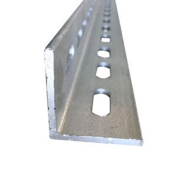 China supplier hot dip galvanized perforated angle iron metal mild equal steel angle bar #1 image