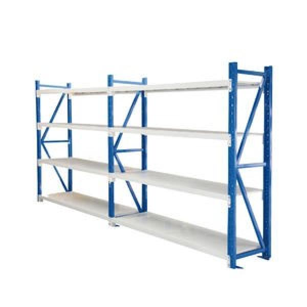 high quality industrial warehouse stacking folding metal commercial tire rack #2 image