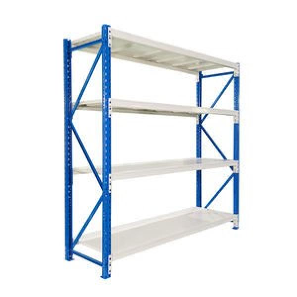 high quality industrial warehouse stacking folding metal commercial tire rack #3 image