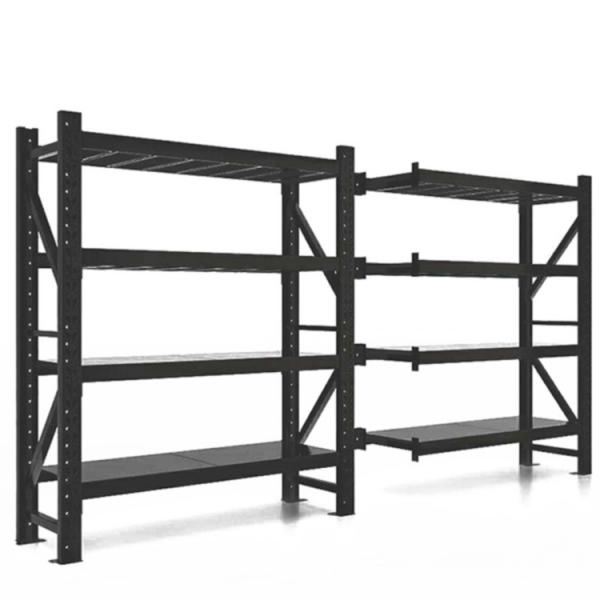 chrome Commercial 6 Tier Steel Wire Shelving Rack with wheels #2 image