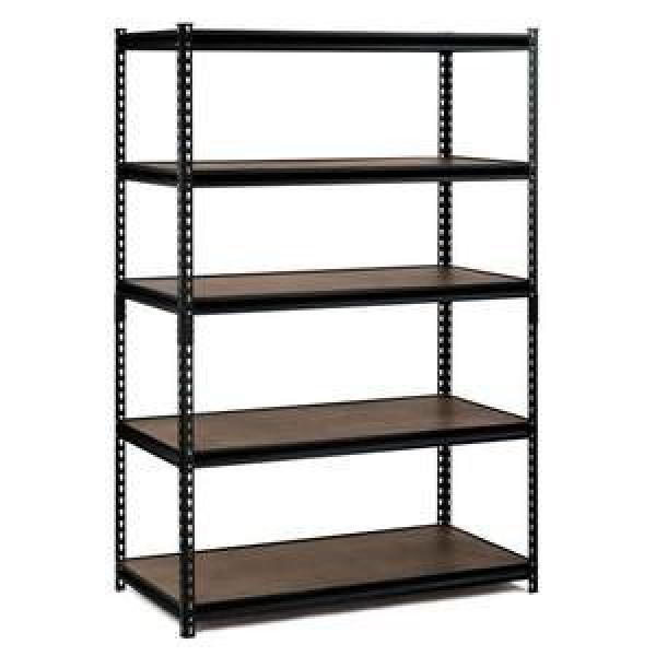 Heavy duty metal steel rack garage home storage 4 shelves shelf shelving unit #2 image