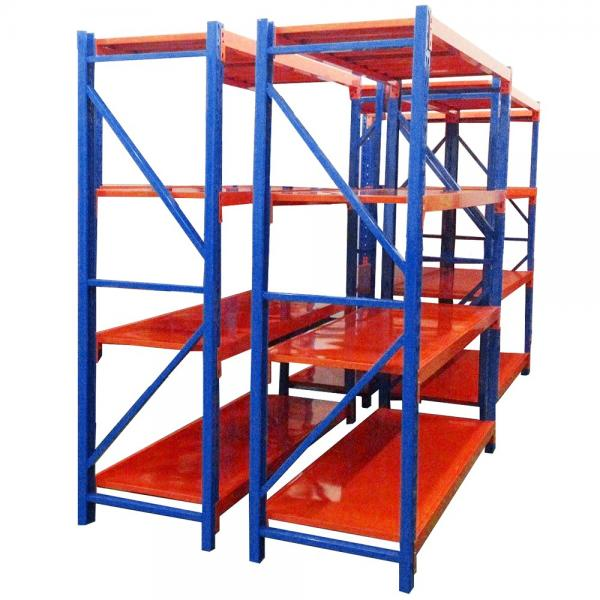 Warehouse Metal Roll Storage Cage Rack with wheel #2 image