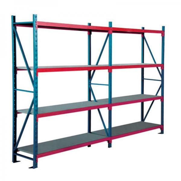 Warehouse Metal Roll Storage Cage Rack with wheel #3 image