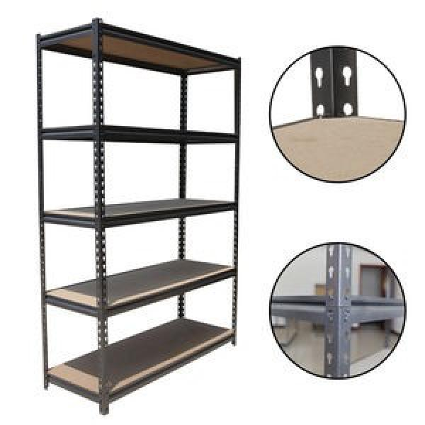 Metal stainless slotted punched angle iron industrial shelving #3 image