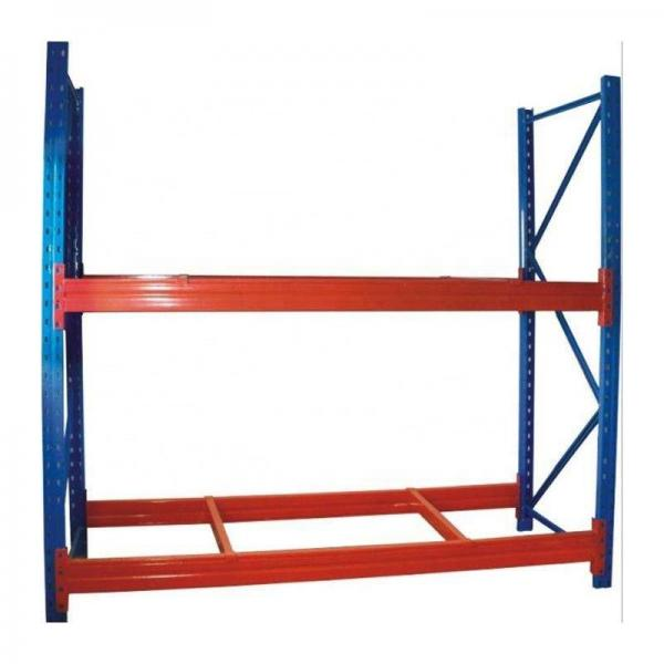 industrial heavy duty metal shelving with steel board or plywood board #1 image