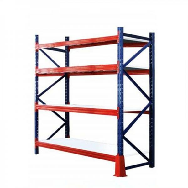 Warehouse Fabric Storage Racking Steel Shelves for Fabric Rolls #2 image