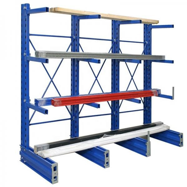 Uprights and beams/storage rack/warehouse rack roofing zinc forming machine roll for steel sheets metal former #3 image