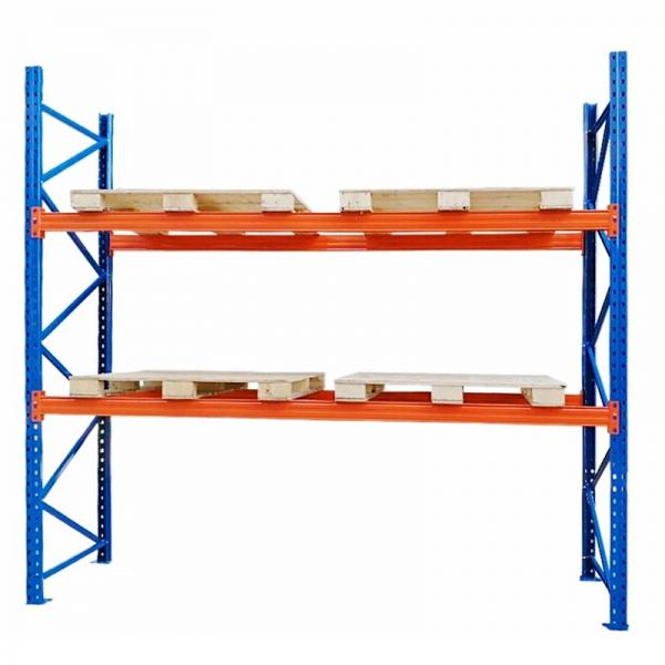 Heavy Duty Pallet Racks Make Pallet Selection Easy - Industrial Shelving Overhead Storage #3 image