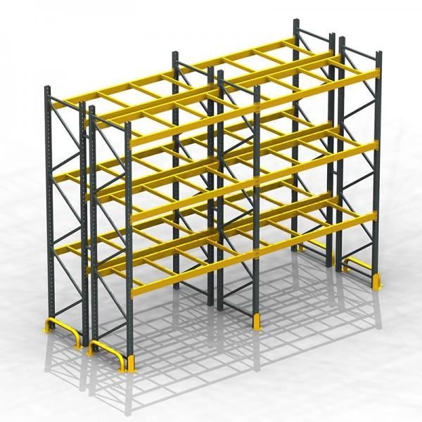 CE certificate heavy warehouse storage rack selective pallet racking warehouse vertical racking systems #1 image