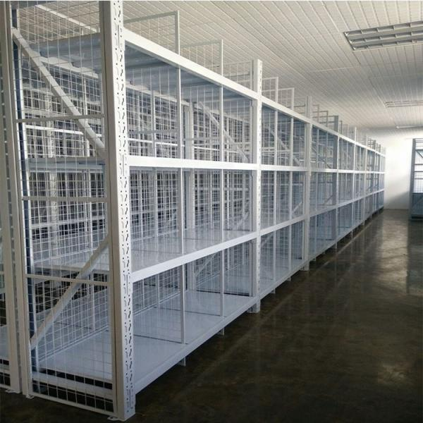 2017 High quality and factory price plate pipe iron storage pallet manufacturer steel warehouse rack #3 image