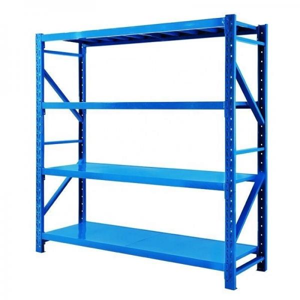 Storage galvanized transport collapsible folding metal wire mesh rolling laundry cage trolley with wheels #3 image