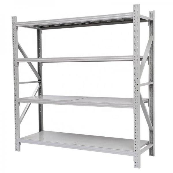 Double Sided Metal Supermarket Display Rack Grocery Shelf #3 image