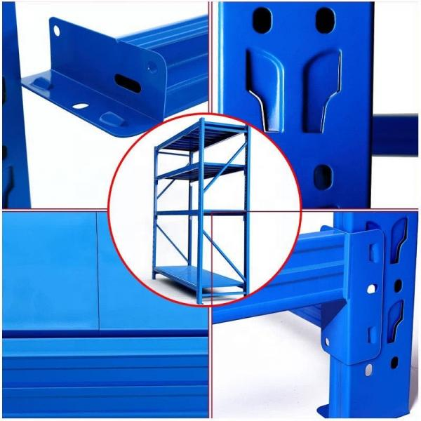 Warehouse Fabric Storage Racking Steel Shelves for Fabric Rolls #3 image